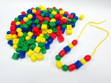 Educational Toy, Lacing Beads