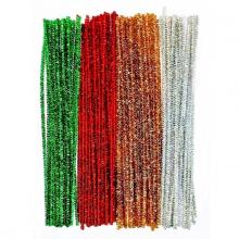 Metallic Craft Chenille Stem, pipe cleaner